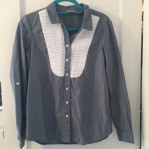 Kate Spade Chambray Button-Up
